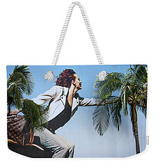 Touching The Canopy.  Weekender Tote Bag by Menachem Ganon