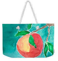 Weekender Tote Bag featuring the painting Touching The Water by Frank Bright