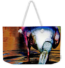 Weekender Tote Bag featuring the photograph Toupee by Faith Williams