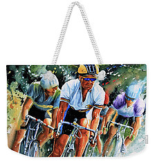 Tour De Force Weekender Tote Bag by Hanne Lore Koehler