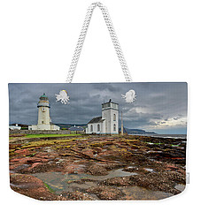 Toward Lighthouse  Weekender Tote Bag by Gary Eason