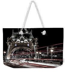Tower Bridge London Weekender Tote Bag by Martin Newman