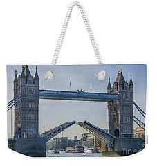 Tower Bridge Opened Weekender Tote Bag