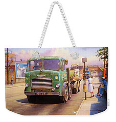 Tower Hill Transport. Weekender Tote Bag