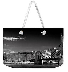 Tower Of London And Tower Bridge Weekender Tote Bag by Gary Eason