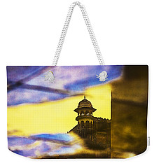 Tower Reflection Weekender Tote Bag