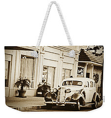 Town Center Weekender Tote Bag by Caitlyn  Grasso