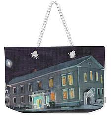Town Hall At Night Weekender Tote Bag