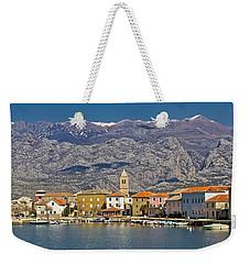 Town Of Vinjerac Waterfrot View Weekender Tote Bag