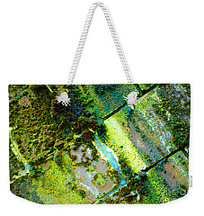 Weekender Tote Bag featuring the photograph Toxic Moss by Christiane Hellner-OBrien