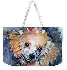Toy Poodle Weekender Tote Bag