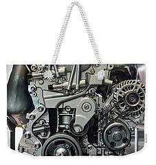 Toyota Engine Weekender Tote Bag by RicardMN Photography