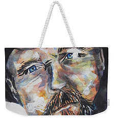 Trace Adkins..country Singer Weekender Tote Bag by Chrisann Ellis