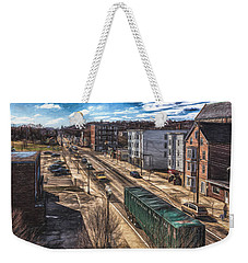 Traffic On Lincoln Street Weekender Tote Bag by Bob Orsillo
