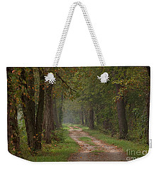 Trail Along The Canal Weekender Tote Bag by Jeannette Hunt