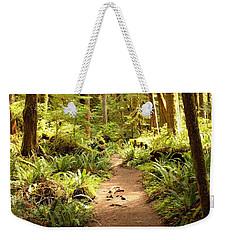 Trail Through The Rainforest Weekender Tote Bag