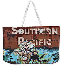 Train Art Swimming With Sharks Weekender Tote Bag