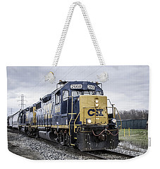 Train Engine 2668 Weekender Tote Bag