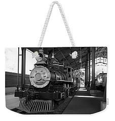 Train Weekender Tote Bag