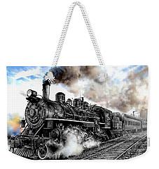 Train I Weekender Tote Bag