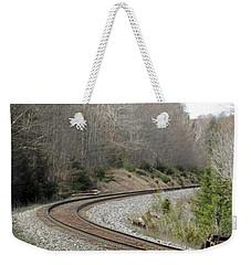 Train It Coming Around The Bend Weekender Tote Bag