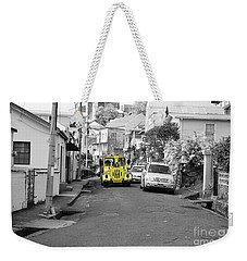 Train Ride Weekender Tote Bag