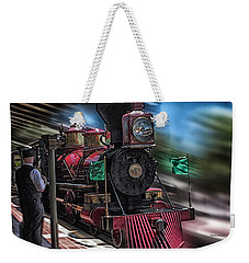 Train Ride Magic Kingdom Weekender Tote Bag