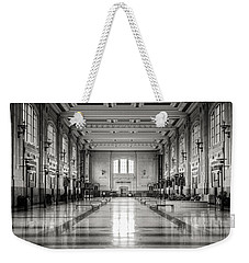 Train Station Weekender Tote Bag by Sennie Pierson