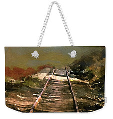 Train Track To Hell Weekender Tote Bag