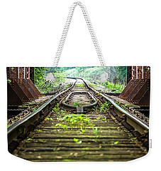 Train Trestle 2 Weekender Tote Bag
