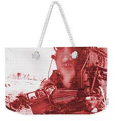 Train V Car Weekender Tote Bag by R Muirhead Art