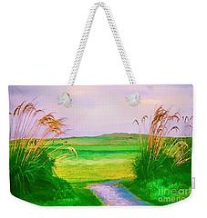 Tralee Ireland Water Color Effect Weekender Tote Bag
