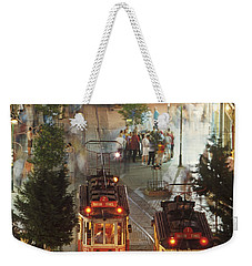 Trams In Beyoglu Weekender Tote Bag