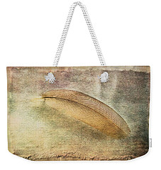 Tranquil Feather Weekender Tote Bag