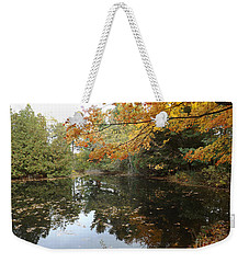 Weekender Tote Bag featuring the photograph Tranquil Getaway by Brenda Brown