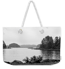 Weekender Tote Bag featuring the photograph Tranquil Harbor by Victoria Harrington