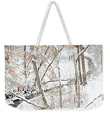 Tranquil Winters Creek Weekender Tote Bag
