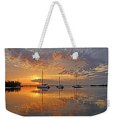 Tranquility Bay - Florida Sunrise Weekender Tote Bag