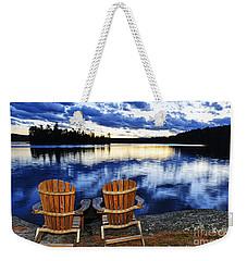 Tranquility Weekender Tote Bag by Elena Elisseeva