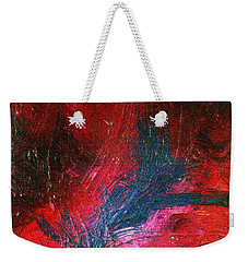 Weekender Tote Bag featuring the painting Transformation by Jacqueline McReynolds