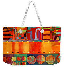 Weekender Tote Bag featuring the photograph Transit Of Venus by Elena Nosyreva