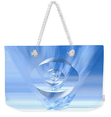 Transparency. Unique Art Collection Weekender Tote Bag
