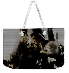Weekender Tote Bag featuring the photograph Trapped Inside by Jessica Shelton