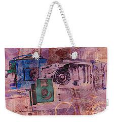 Travel Log Weekender Tote Bag by Erika Weber