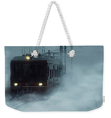 Traveling In The Snow... Weekender Tote Bag