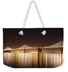 Treasure Island Bay Lights Weekender Tote Bag