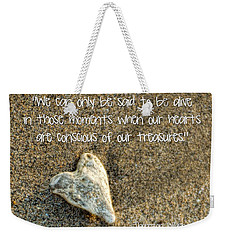 Treasured Heart Weekender Tote Bag