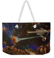 Trek Adventure Weekender Tote Bag by Peter Suhocke