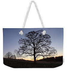 Tree At Dawn Weekender Tote Bag by Michael Porchik