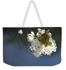 Weekender Tote Bag featuring the photograph Tree Blossoms by Marilyn Wilson